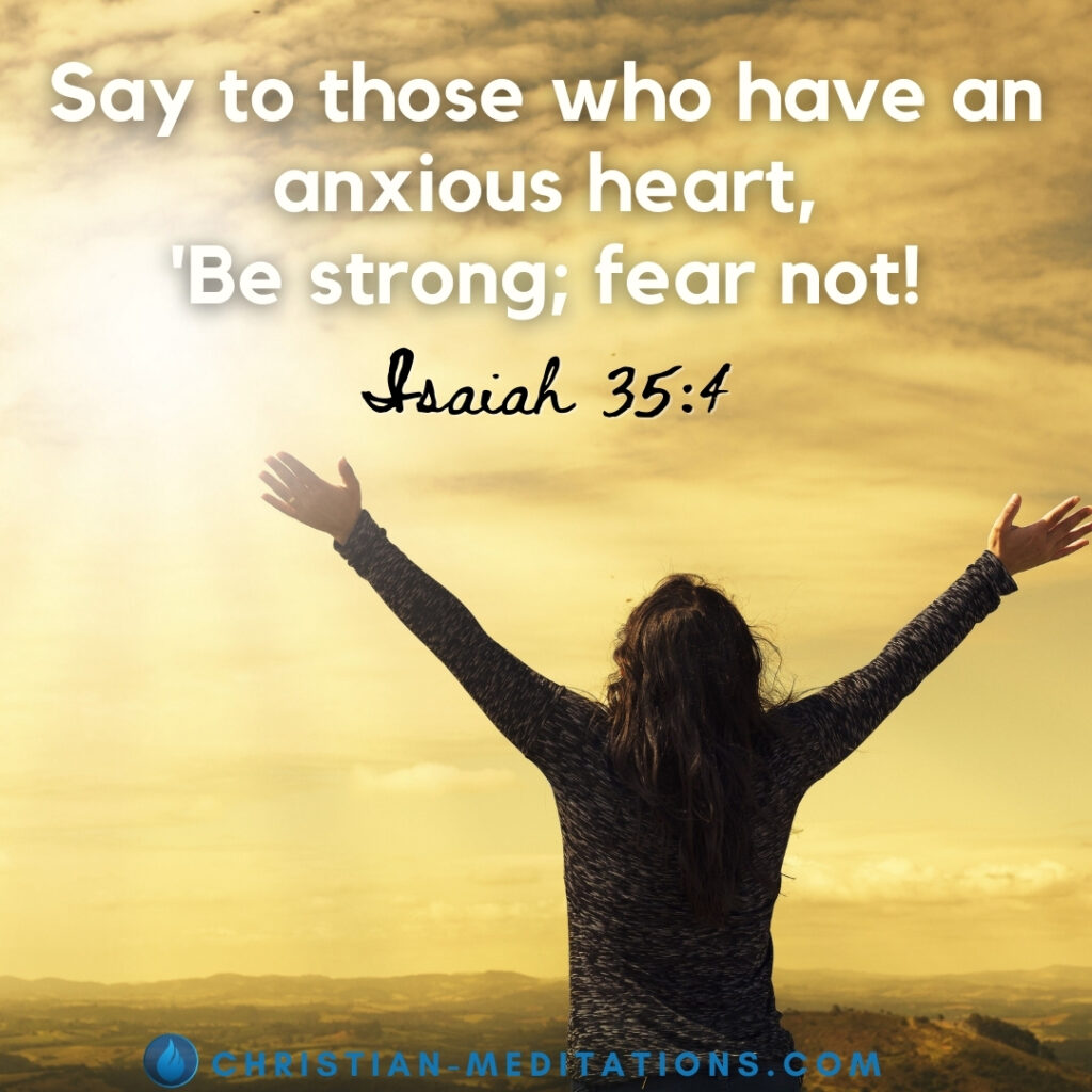 Bible Verse About Anxiety