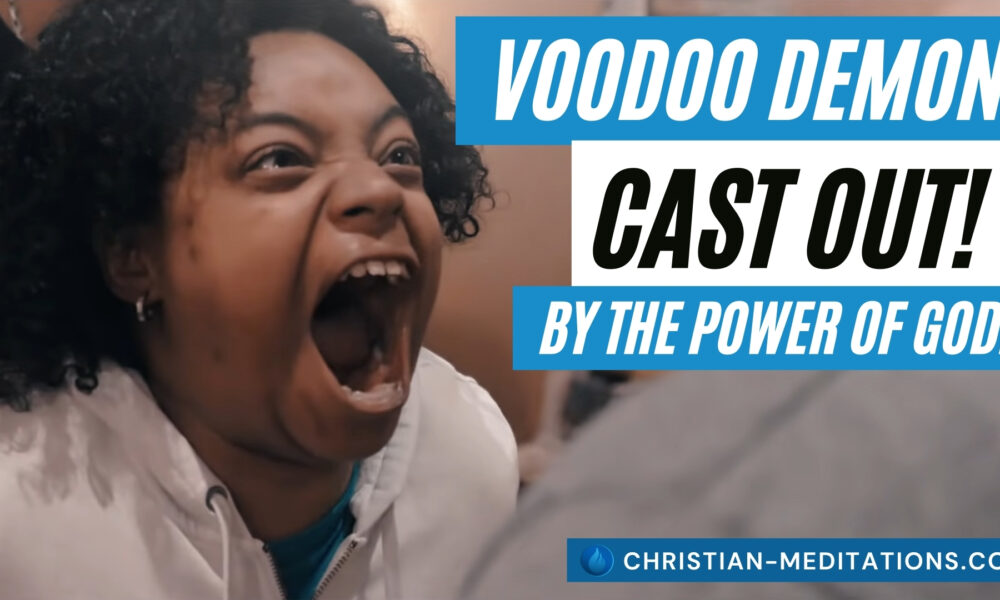 Daniel Adams Rebukes A VOODOO DEMON that Manifested In A Woman!!! It Had To Go in Jesus Name!